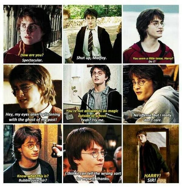 The sassy boy who lived