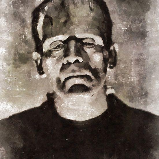 Frankenstein, Vintage Horror by Mary Bassett