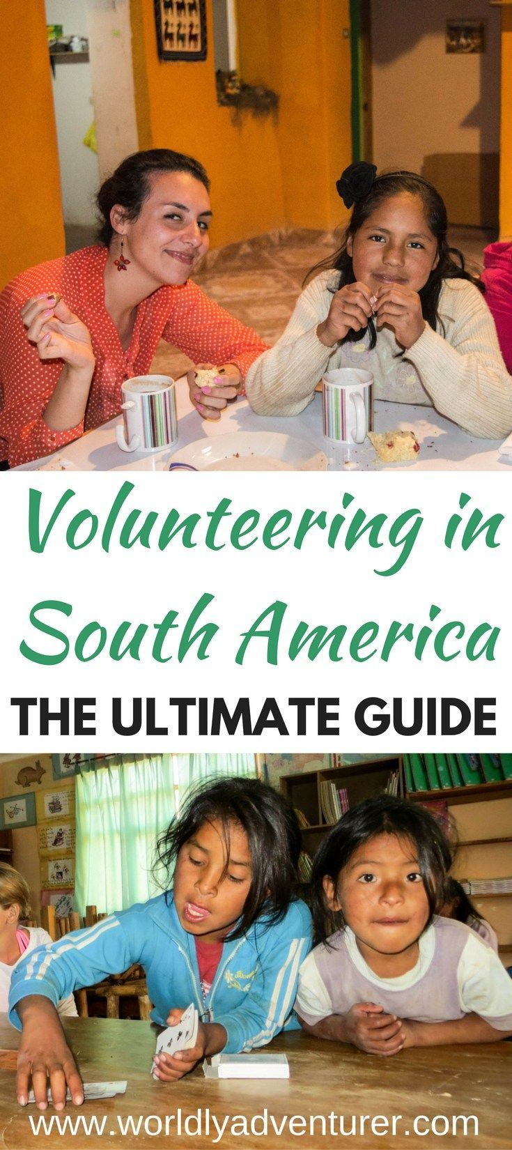 Want to volunteer in South America but not sure where to start? This ultimate guide has information about different South American countries where you can volunteer, types of volunteering programs in South America that you can find, how to evaluate your skill-set before volunteer to help you choose a role, whether you should pay to volunteer and how long you need to commit to a volunteering program in South America.