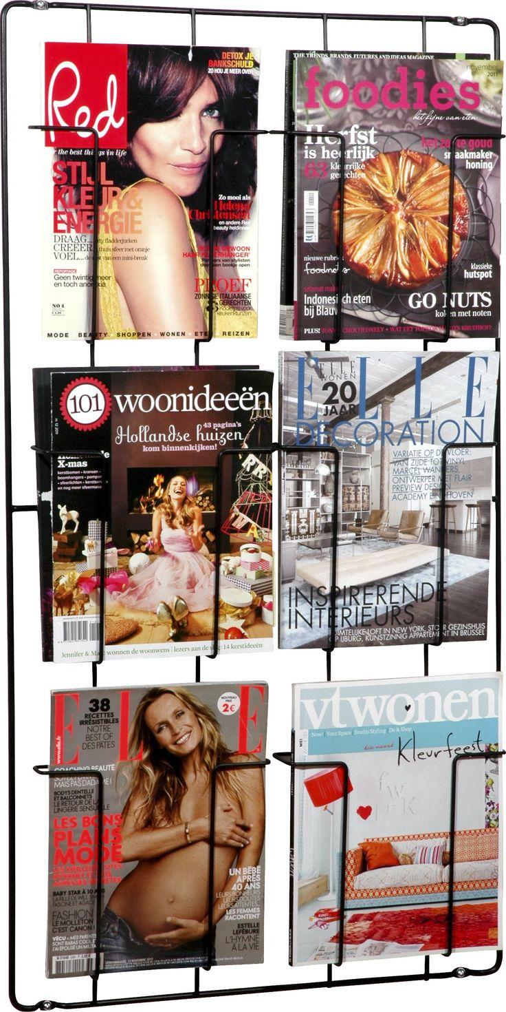 Puhlmann Frame tijdschriftenrek kopen? Stalen magazinerek in verschillende groottes