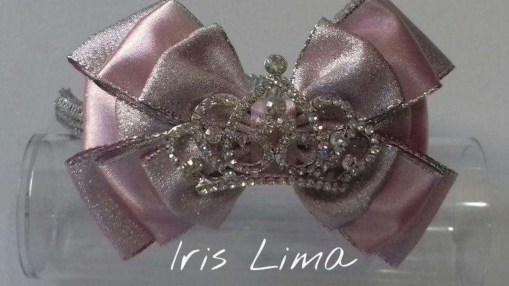 Como fazer laço com três camadas D.I.Y. ,Tutorial , Pap By Iris Lima How...