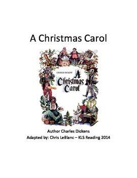 An interpretation of a christmass carol a novella by charles dickens