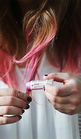 The best wash-out temporary hair color for rainbow hair