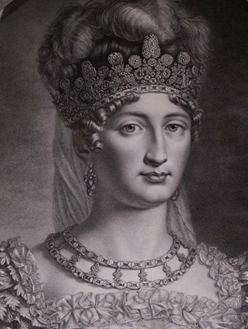 Marie Therese Charlotte of France, known as Madame Royale (1778 1851), daughter of Louis XVI and Marie-Antoinette, Duchesse d'Angouleme, Queen of France.