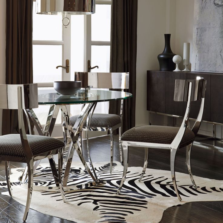 zigrino dining room bernhardt hollywood glam pinterest chairs
