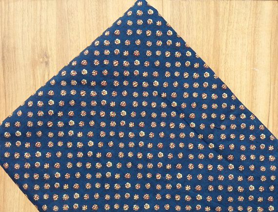 5 yards blue Block print Fabric,Indian Cotton Fabric,Printed  Fabric,Cotton Indigo Fabric,Printed Fabric,Block Print Fabric #071