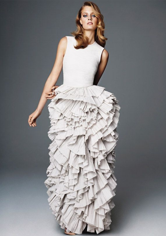 A fantastic dress from HM concious collection 2012