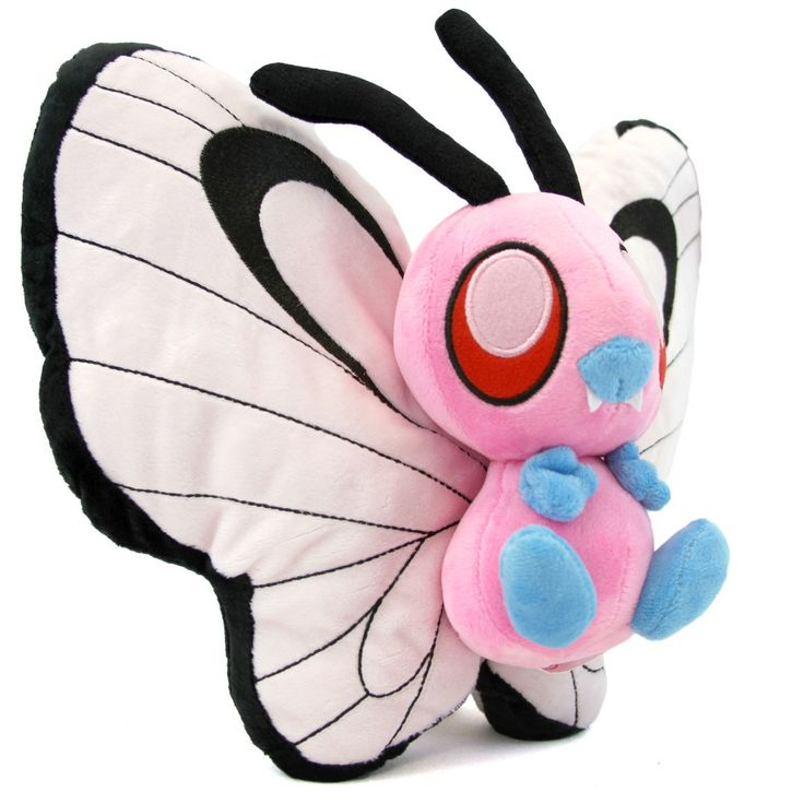 "Pink Butterfree - Pokemon 10"" Plush"