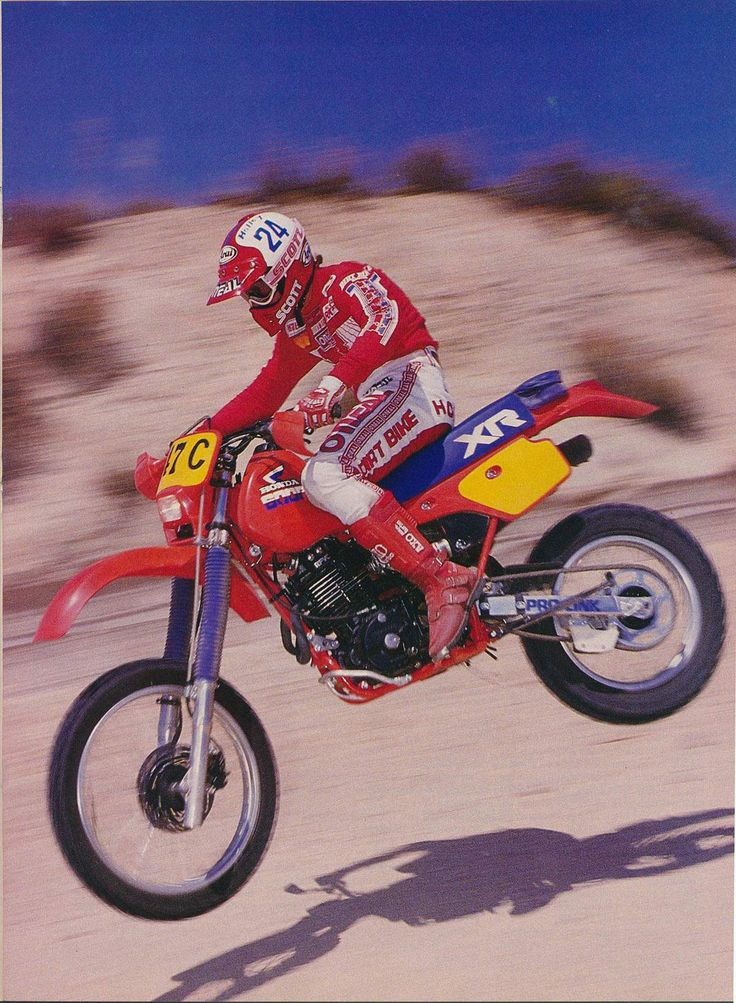 XR600R My dad had one, now I really want one. Follow us to http://racdaynews.com