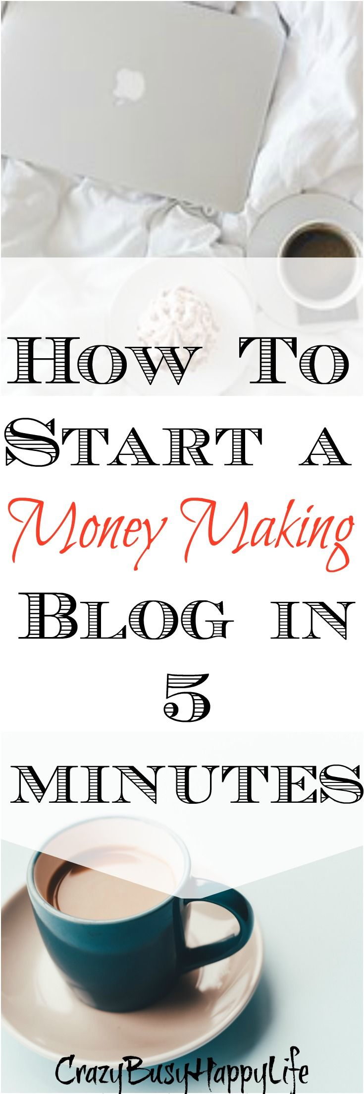 Blogging is the ultimate side hustle. It doesn't take a lot of time and it's a great way to make money from home. It's perfect for people working a nine to five or busy moms. Start your own money making blog in a few minutes.