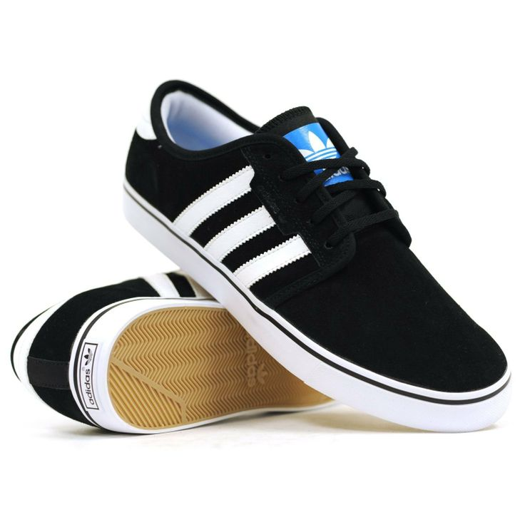 There is 1 tip to buy these shoes: black white white stripes swag skater  skate shoe adidas adidas fashion unisex girls sneakers comfy canvas  synthetic ...