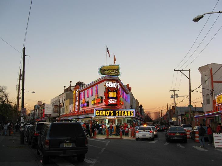Geno's Steaks,  Philadelphia, Pennsylvania