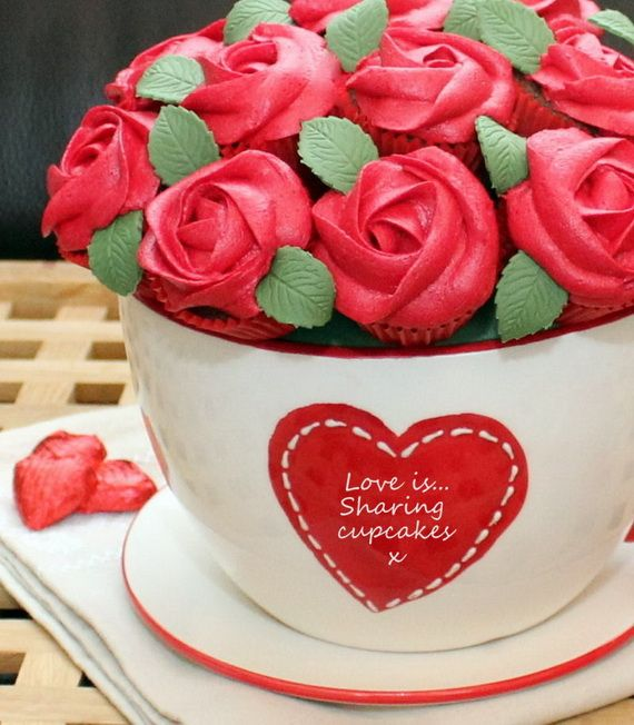 Valentineu0027s Day Decorations Ideas | Day Cupcakes Decorating Ideas Made By  Artist For Valentineu0027s Day .