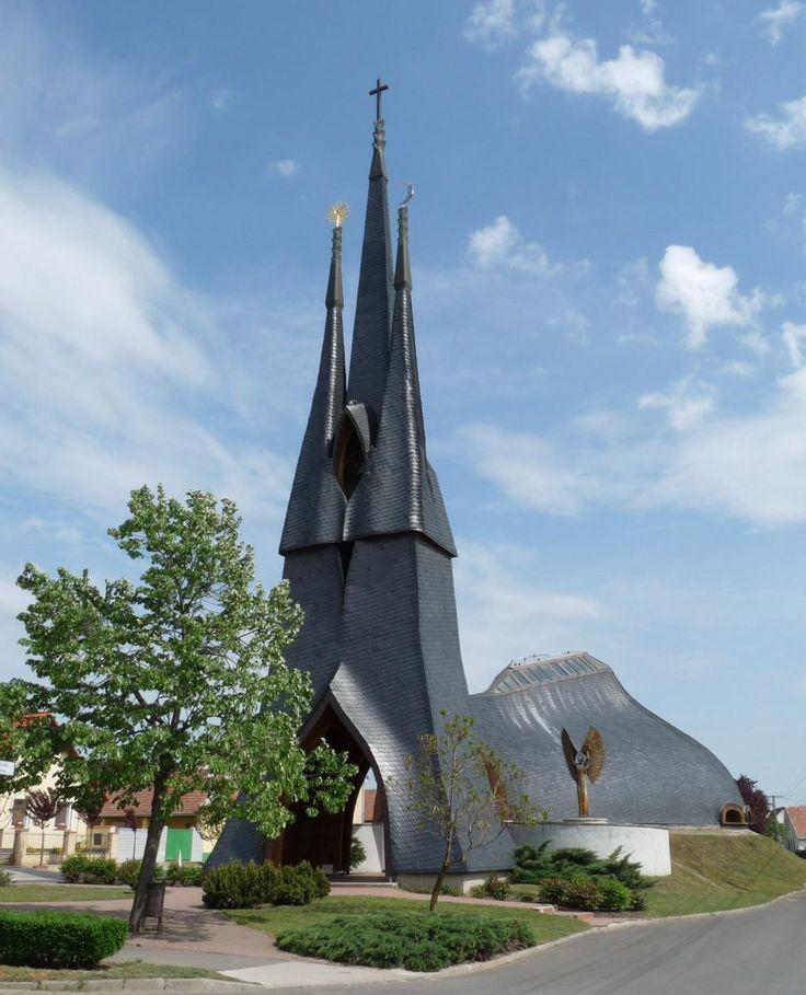 Church by Imre Makovecz, Hungary