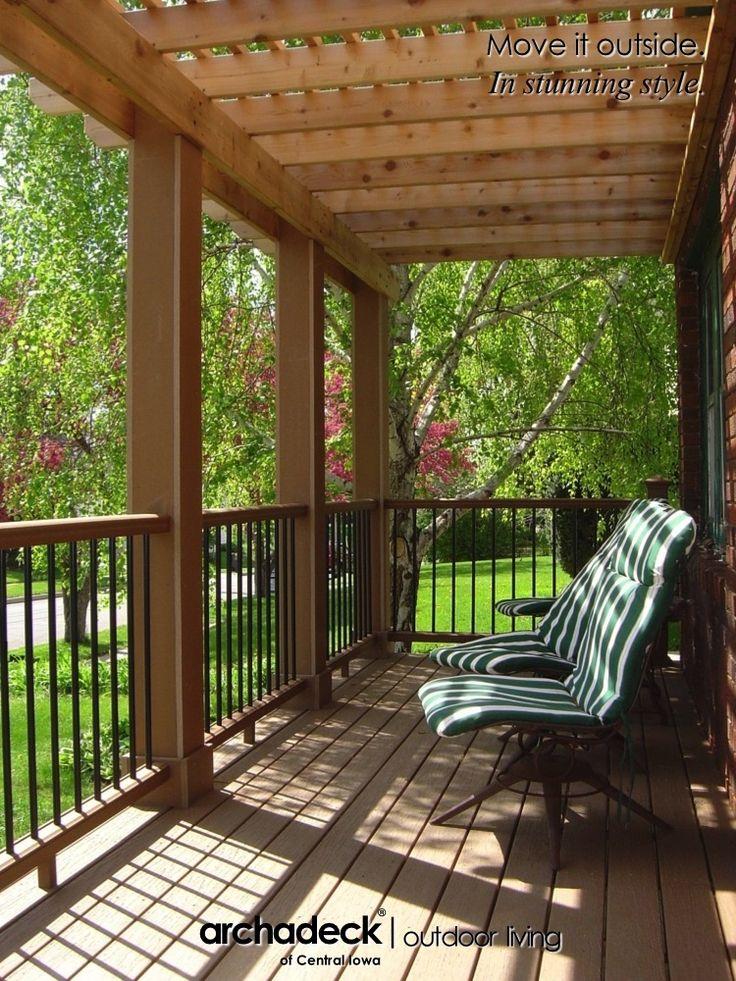 Best 25+ Front porch pergola ideas on Pinterest | Pergula ...