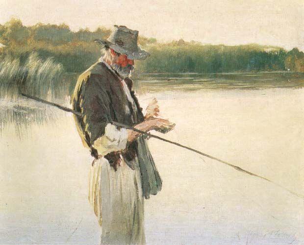 Rybak (Pêcheur), Leon Wyczółkowski, 1852-1936