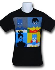 Batman Amplified Characters T-Shirt