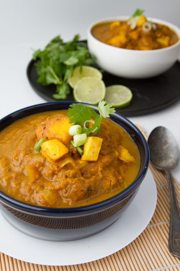 Spicy Speckled Pumpkin Curry - a fall favorit for sure!