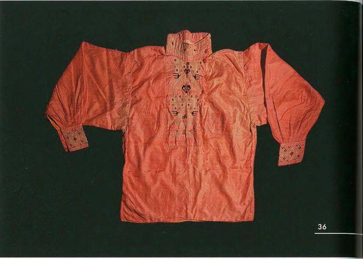 Свадебная мужская рубаха. 1909 год. Архангельская губерния