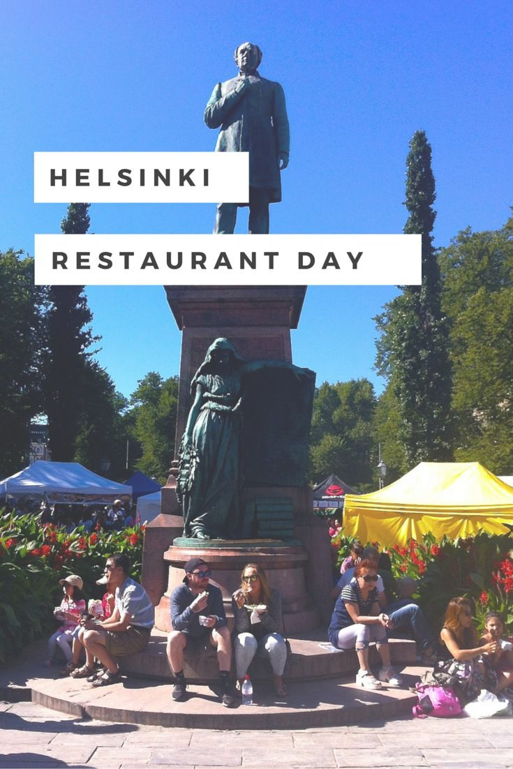 Four times a year, Restaurant Day turns Helsinki into a gastronomic paradise
