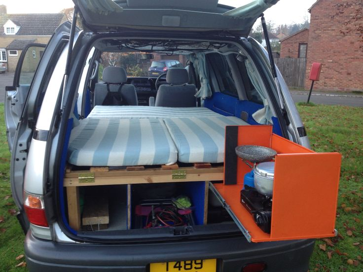 DIY Toyota Previa Camper