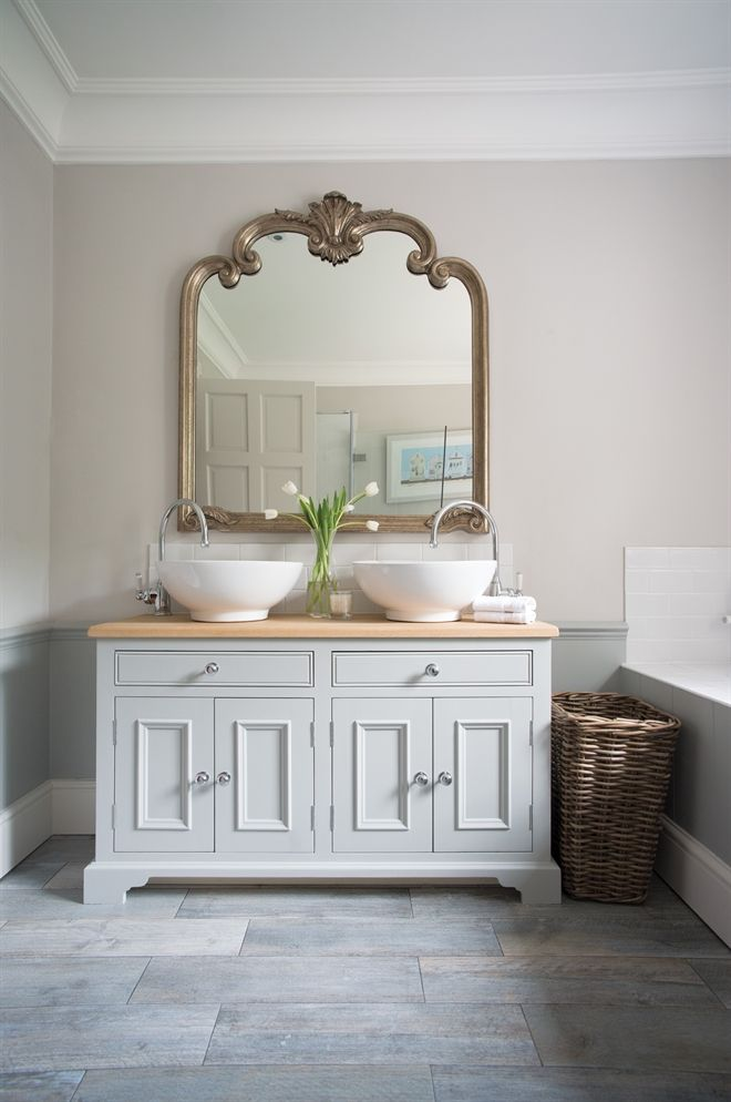 Neptune Bathroom Washstands - Chichester 1240mm Oak Countertop Washstand
