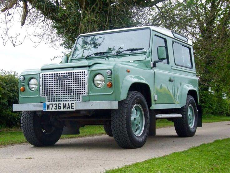 Landrover Defender 2000 Land Rover Defender Heritage 90