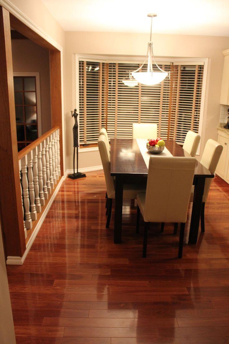 Friesen Floor & Decor Mercier Santos Mahogany (selected), 3 1/4 Boards