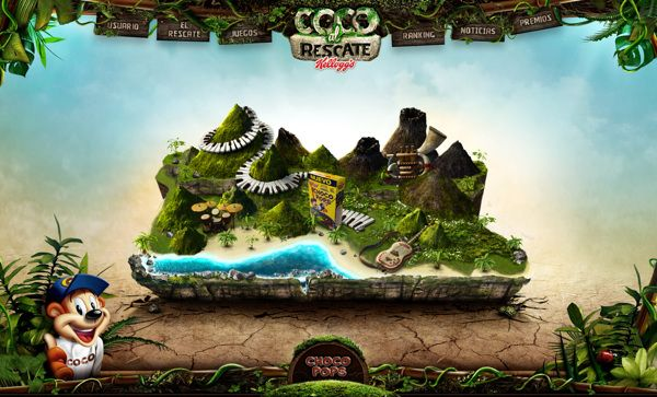Chocopops - Kelllogs by David Patiño, via Behance