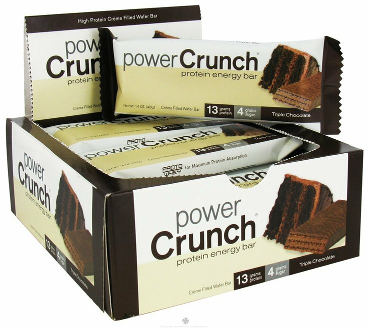 Power Crunch Bars! 9gs Usable Carbs per bar. Take half of the bar, spread some #peanutbutter on it – Instant #ultra low-carb #dessert!