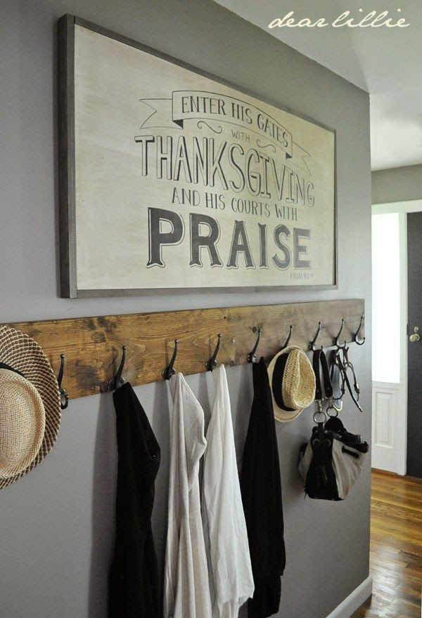 Mudroom love!