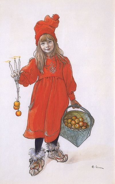 Probably my all-time favorite Carl Larsson.  I have this done in cross stitch.