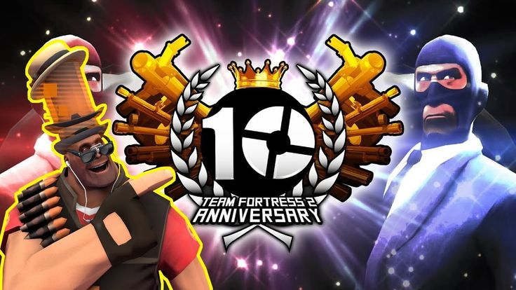 My Favourite Team Fortress 2 10 Years Anniversary Celebration Video #games #teamfortress2 #steam #tf2 #SteamNewRelease #gaming #Valve