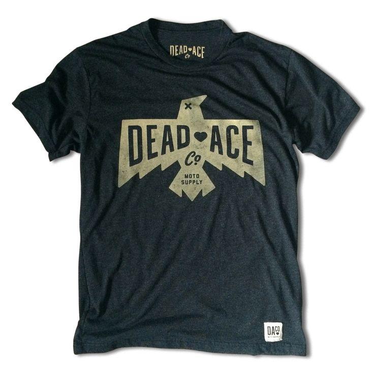 Dead Crow Logo Tee // Dead Ace Co. Moto Supply