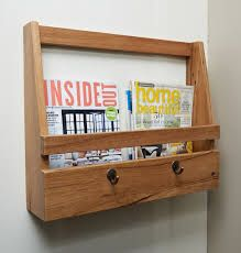 Image result for magazine rack wall