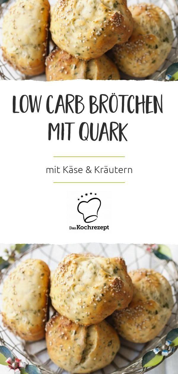 Low carb brötchen quark