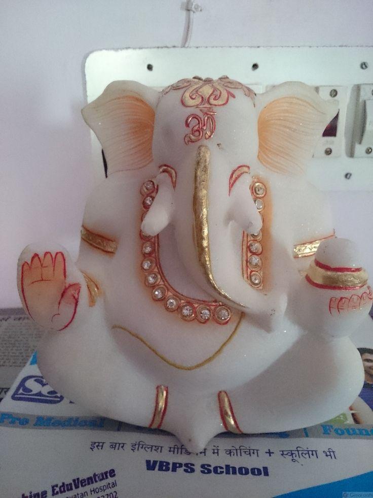 Marble Loard Ganesh Product Detail » Girnar Craft