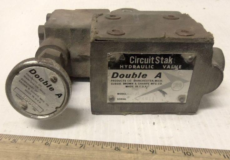 Double A - Circuit Stak Hydraulic Fluid Pressure Regulating Valve - #WAP-01-10B1 #DoubleA