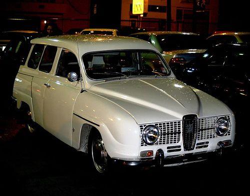 1967 Saab Wagon