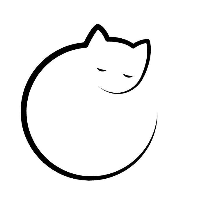 Cats Icons Alina Oleynik Tattoos Alina Cats Icons Oleynik Tattoos Cat Icon Cat Tattoo Designs Line Art Drawings