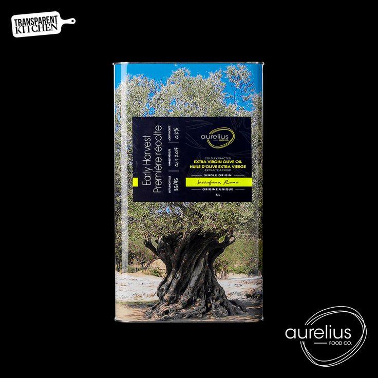 Aurelius Food Co. - Olive Oil - 2017 - Early Harvest Olive Oil (5L) 2017 | Transparent Kitchen