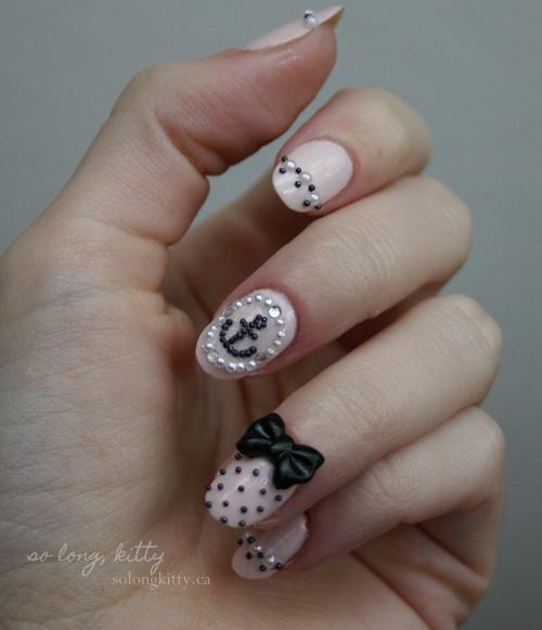 3D Japanese Nail Art. I want my nails like this noooooow!!!!