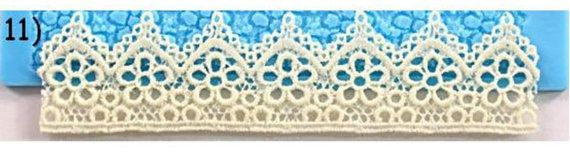 Snowflower Silicone Cake Lace Mat Lace Mat by hundredmiles on Etsy