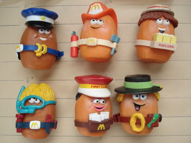 McNugget Buddies (1988) | The 25 Greatest Happy Meal Toys Of The '80s
