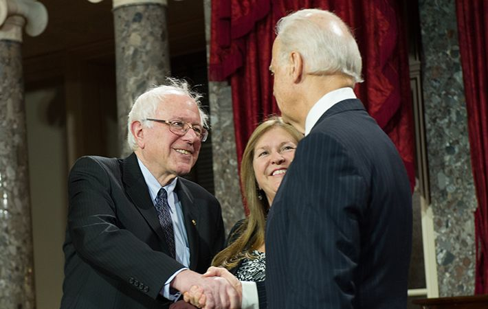The secret to Bernie Sanders astonishing success is his wife, Irish American Mary Jane O'Meara, according to The New York Times.