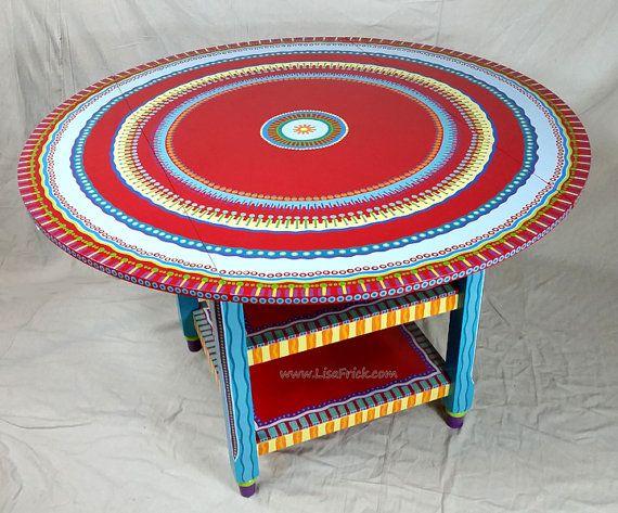 VENDIDO-muestra de encargo de mano de obra pintado muebles colocar hoja mesa con estantes. Por favor lea la descripción.