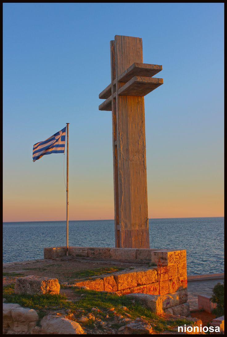 "Tο μνημείο του ""Aφανούς Ναύτου"", Πειραϊκή."