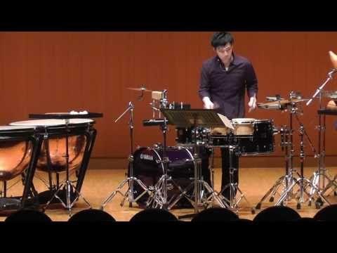 Quatre Inventions pour Percussion and Piano/Michel Cals - YouTube