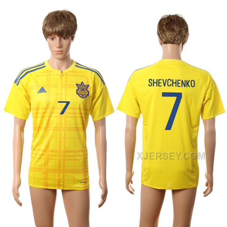 http://www.xjersey.com/ukraine-7-shevchenko-home-euro-2016-thailand-jersey.html UKRAINE 7 SHEVCHENKO HOME EURO 2016 THAILAND JERSEY Only 33.11€ , Free Shipping!