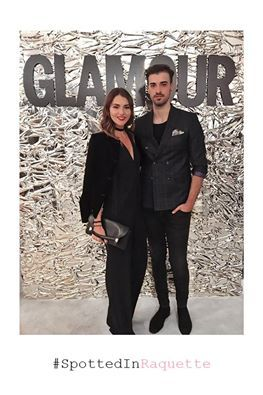 Luana Codreanu spotted in a Raquette Pandora Jumpsuit • at GLAMOUR Romania Street Fashion Show 2016